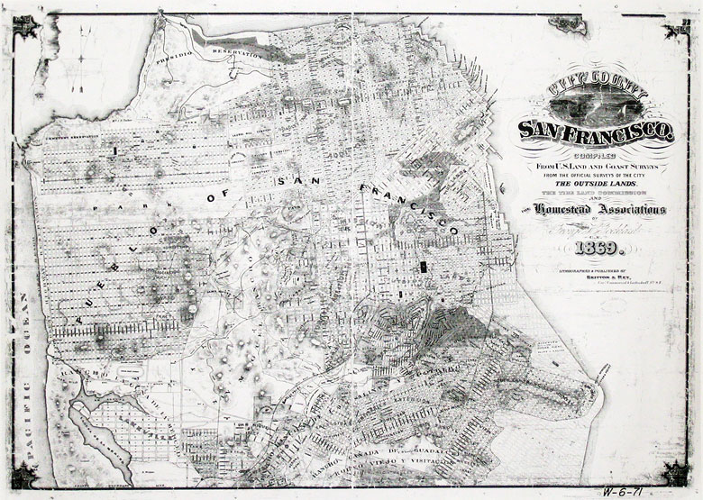 Vintage San Francisco Maps On The Cheap San Francisco History - Cheap vintage maps