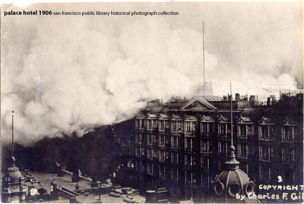 55 Caruso The Palace And The 1906 Earthquake San Francisco