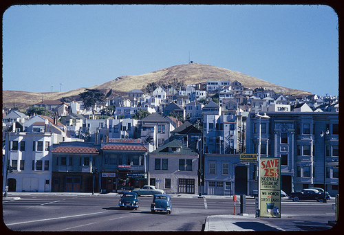 San Francisco, South Van Ness and Army 1953