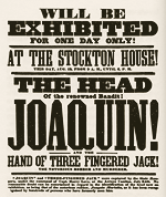 joaquin murieta wanted poster