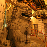 san francisco chinatown gate fou lion