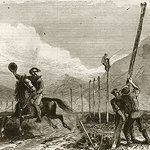 pony express telegraph