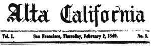 alta california masthead